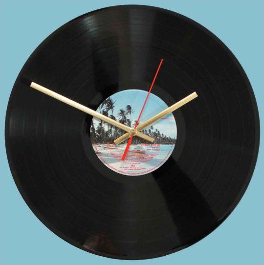 10cc – Bloody Tourists - vinyl record clock