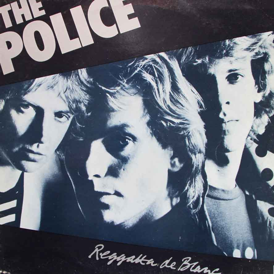 The Police Reggatta De Blanc Vinyl Clocks