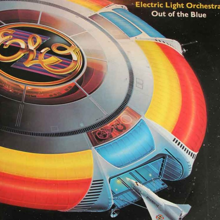 Electric light orchestra - no answer 1971 music front cover