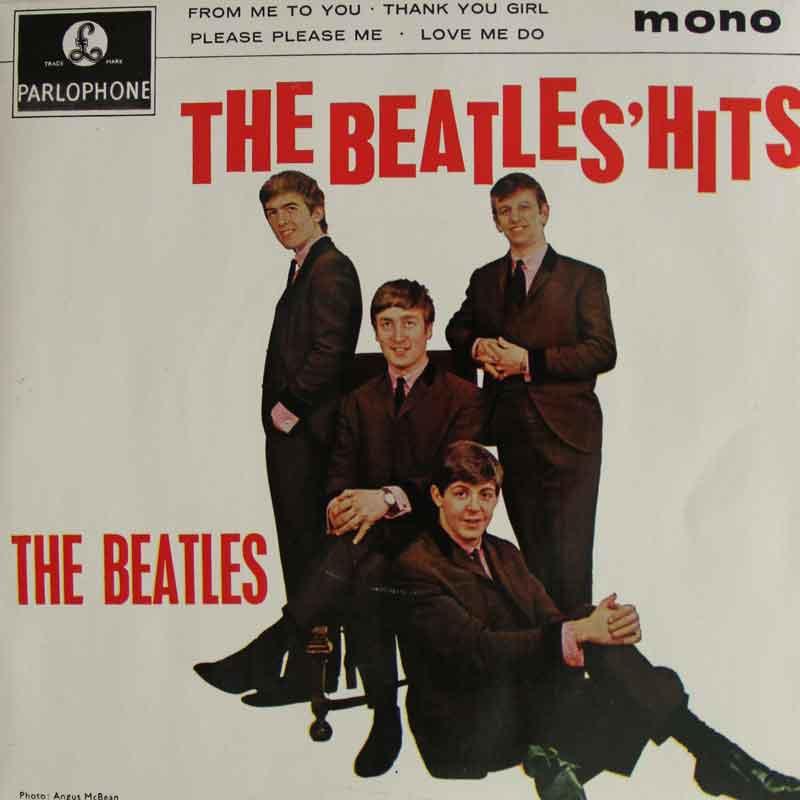 The Beatles Hits Ep Vinyl Clocks
