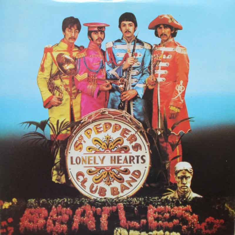 The Beatles Sgt Pepper S Lonely Hearts Club Band With
