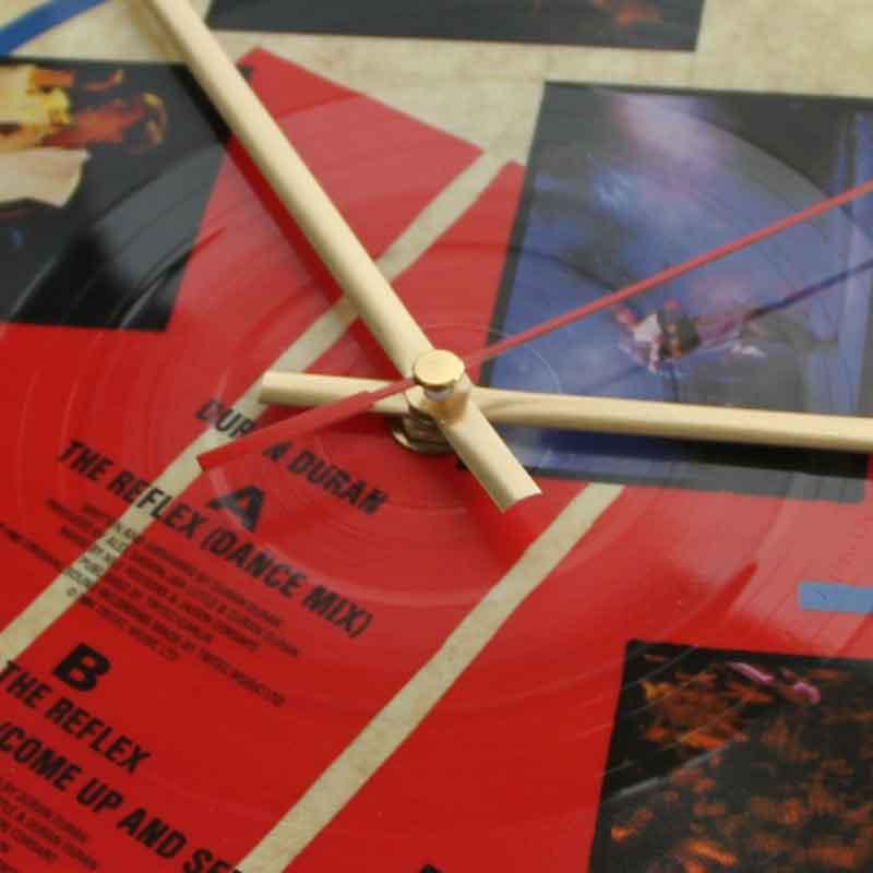 Duran Duran The Reflex Vinyl Clocks