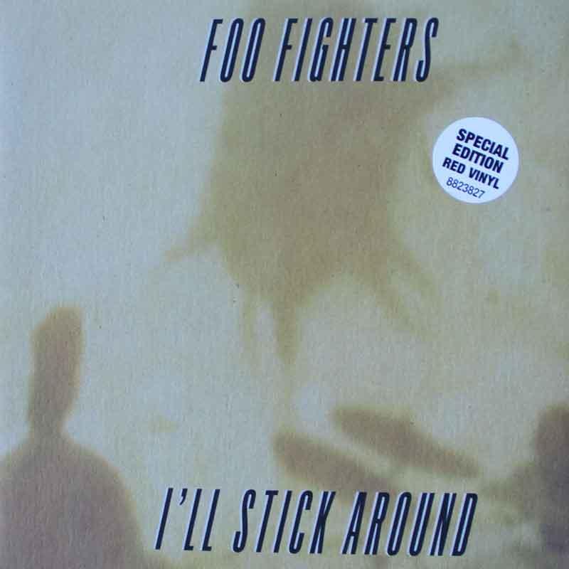 Foo Fighters I Ll Stick Around Vinyl Clocks