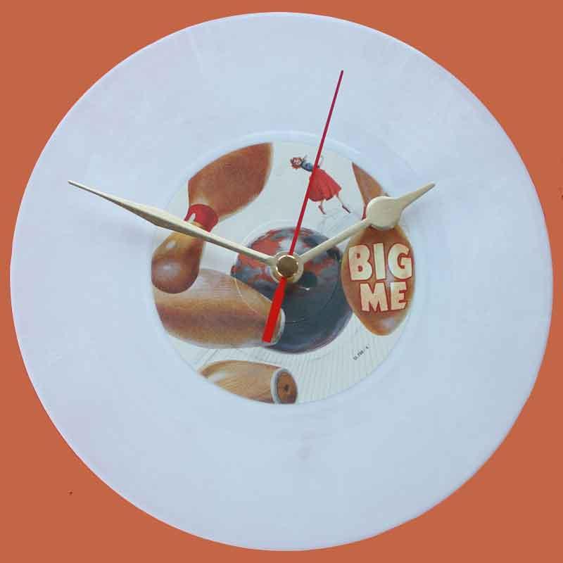 Foo Fighters Big Me Vinyl Clocks