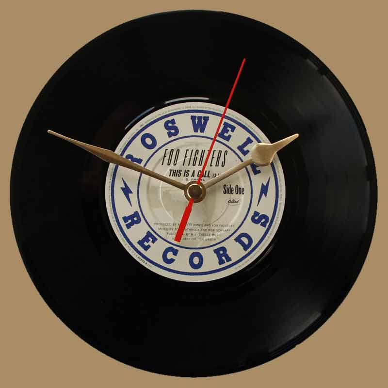 Foo Fighters This Is A Call Vinyl Clocks