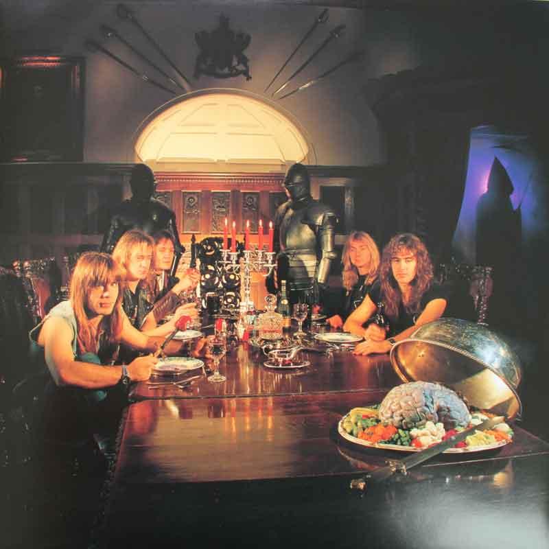 Iron Maiden Piece Of Mind Vinyl Clocks
