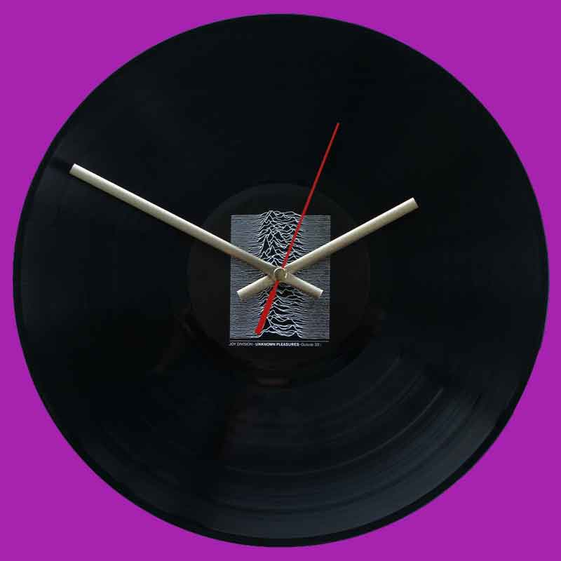 Joy Division Unknown Pleasures Vinyl Clocks