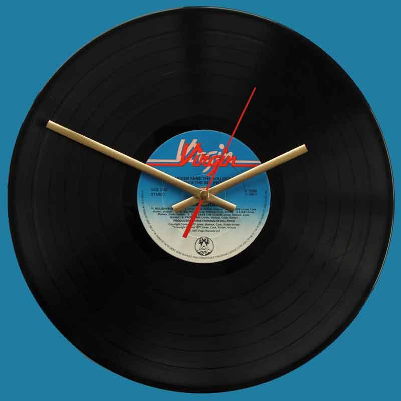 The Sex Pistols Never Mind The Bollocks Vinyl Clocks