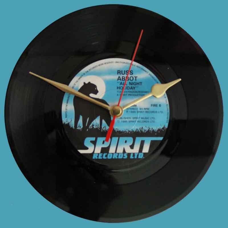 """Russ Abbot - """"All Night Holiday"""" - Vinyl Clocks"""