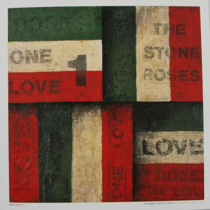 The Stone Roses One Love Vinyl Clocks