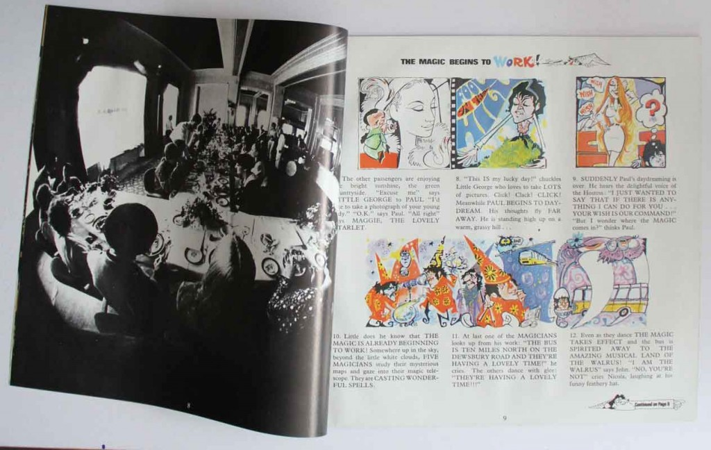 Magical Mystery Tour Album Booklet
