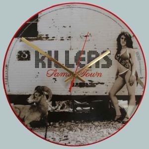 Iron Maiden Somewhere In Time Vinyl Clocks