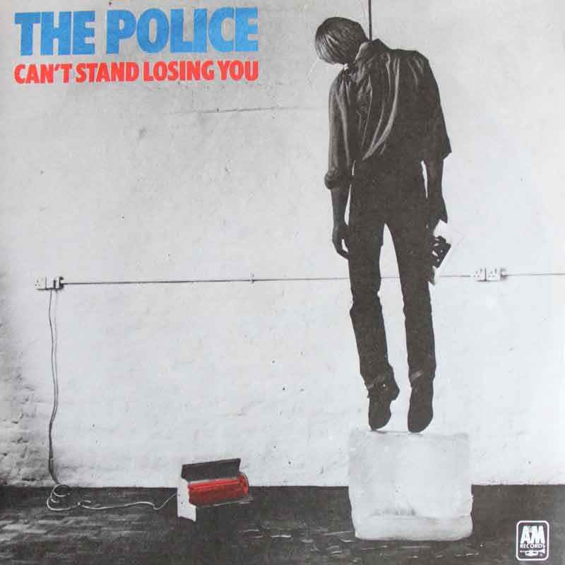 The Police Can T Stand Losing You Vinyl Clocks