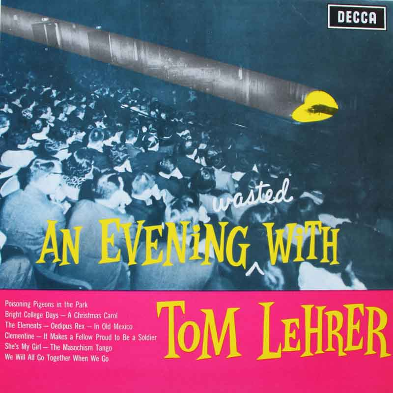 An Evening Wasted With Tom Lehrer Vinyl Clocks