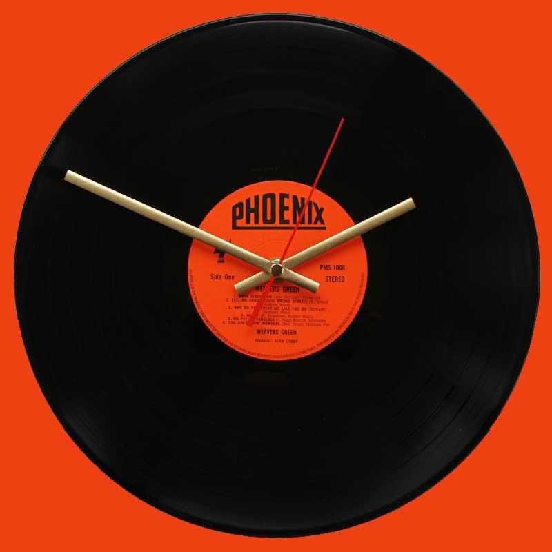 The Beatles Abbey Road Vinyl Clocks