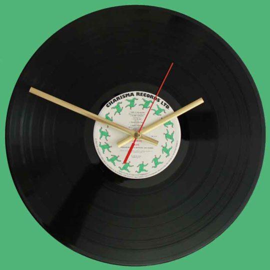 Genesis Duke Vinyl Clocks