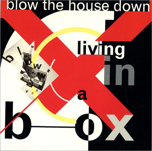 living in a box blow the house down vinyl clocks. Black Bedroom Furniture Sets. Home Design Ideas