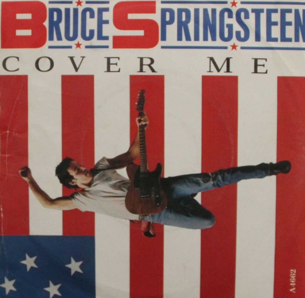 Bruce Springsteen Cover Me Vinyl Clocks