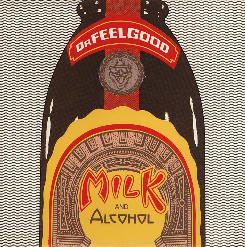 Dr Feelgood Milk And Alcohol Vinyl Clocks