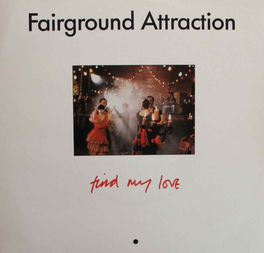 Fairground Attraction Find My Love Vinyl Clocks
