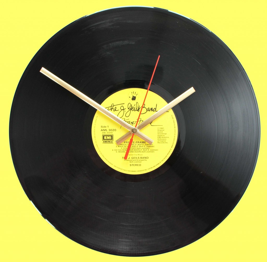 J. Geils Band - Freeze Frame - Vinyl Clocks