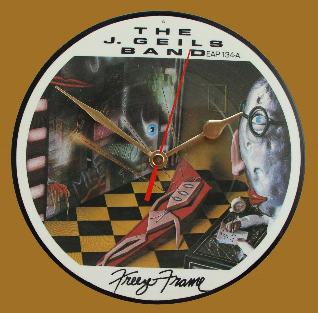 J Geils Band - Freeze Frame - Vinyl Clocks