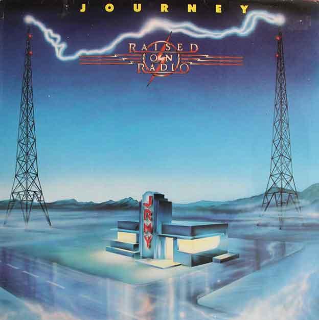 Journey Raised On The Radio Vinyl Clocks