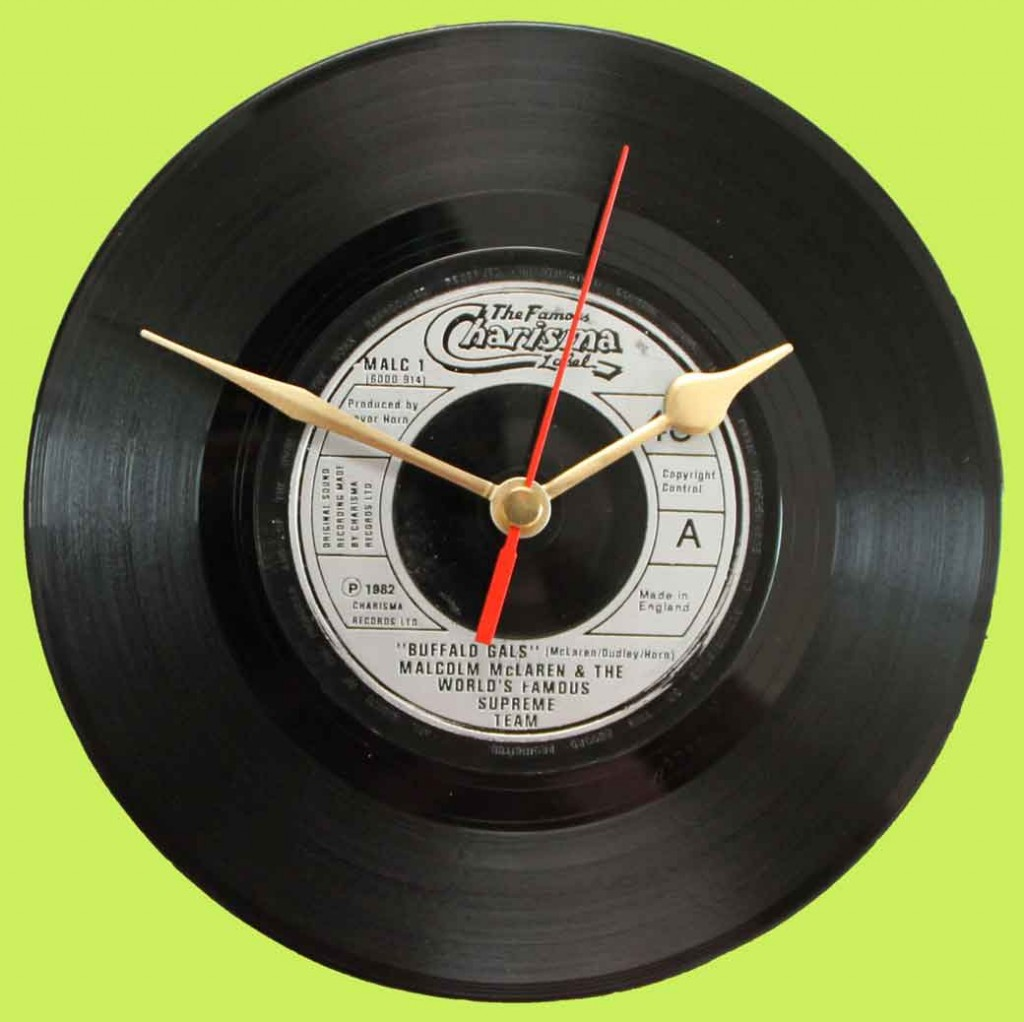 The Second Most Famous Clock In The World: Malcolm McLaren & The World Famous Supreme Team