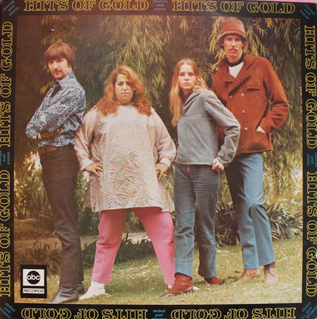 Mamas And Papas Hits Of Gold Vinyl Clocks