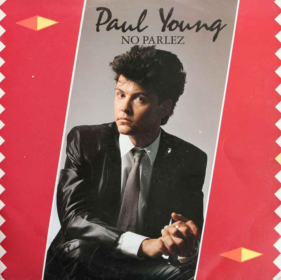Paul Young No Parlez Vinyl Clocks
