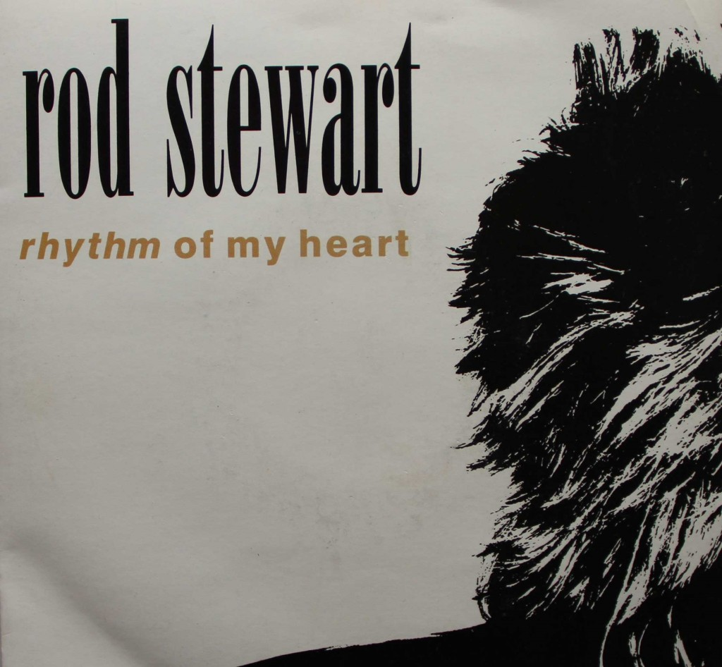 Rod Stewart Rhythm Of My Heart Vinyl Clocks