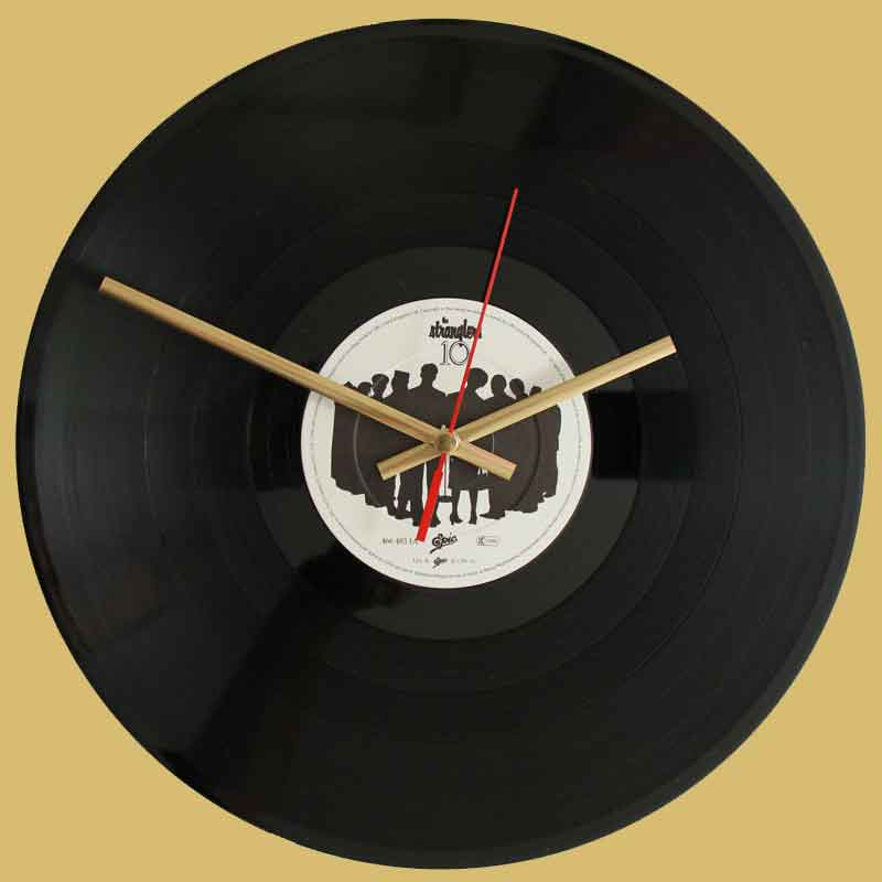 The Stranglers 10 Vinyl Clocks