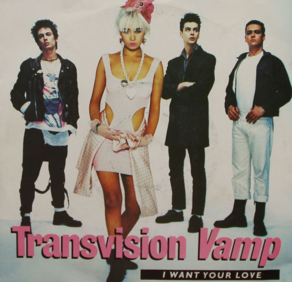 Transvision Vamp I Want Your Love Vinyl Clocks