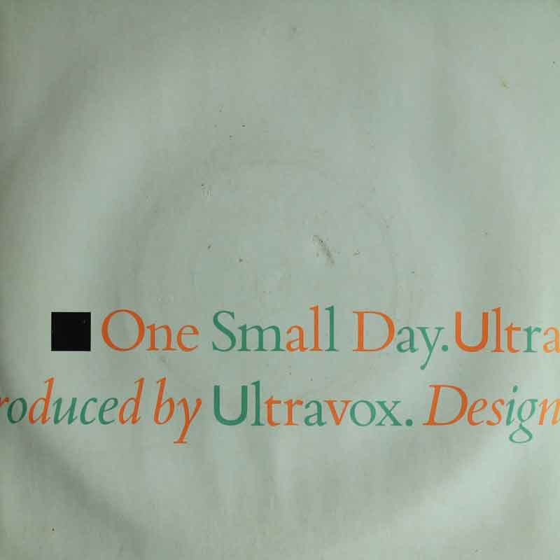 Ultravox One Small Day Special Re mix Extra