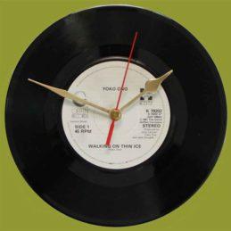 yoko-ono-walking-on-thin-ice-929932-80s-vinyl-clock