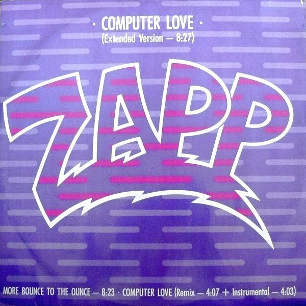 Zapp Computer Love Part 1 Vinyl Clocks
