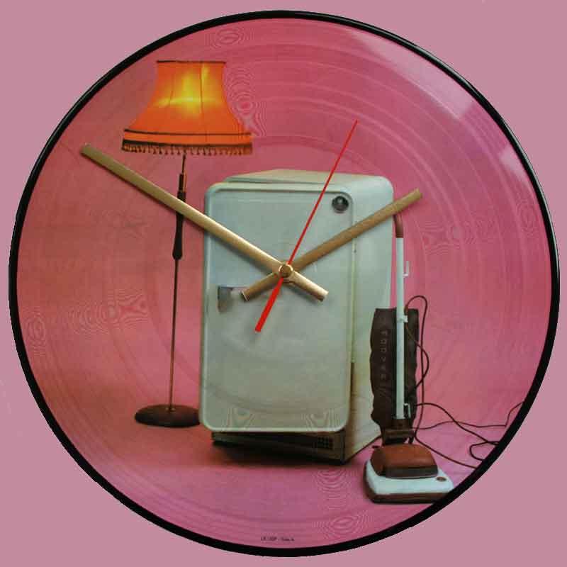 The Cure Three Imaginary Boys Vinyl Clocks