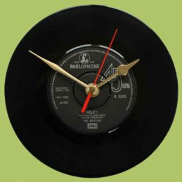 the-beatles-help-I'm-down-vinyl-record-clock-1965