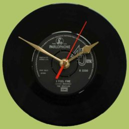 the-beatles-i-feel-fine-she's-a-woman-vinyl-record-clock-1964