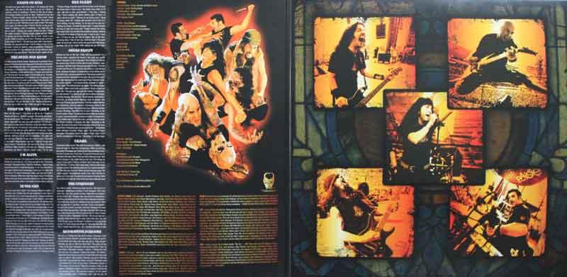 Anthrax - Worship Music - Vinyl Clocks