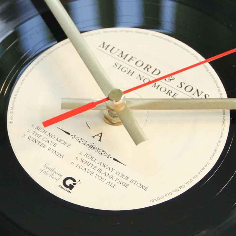 Mumford Amp Sons Sigh No More Vinyl Clocks