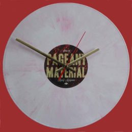 kacey-musgraves-pageant-material-pink-vinyl-record-clock-2015
