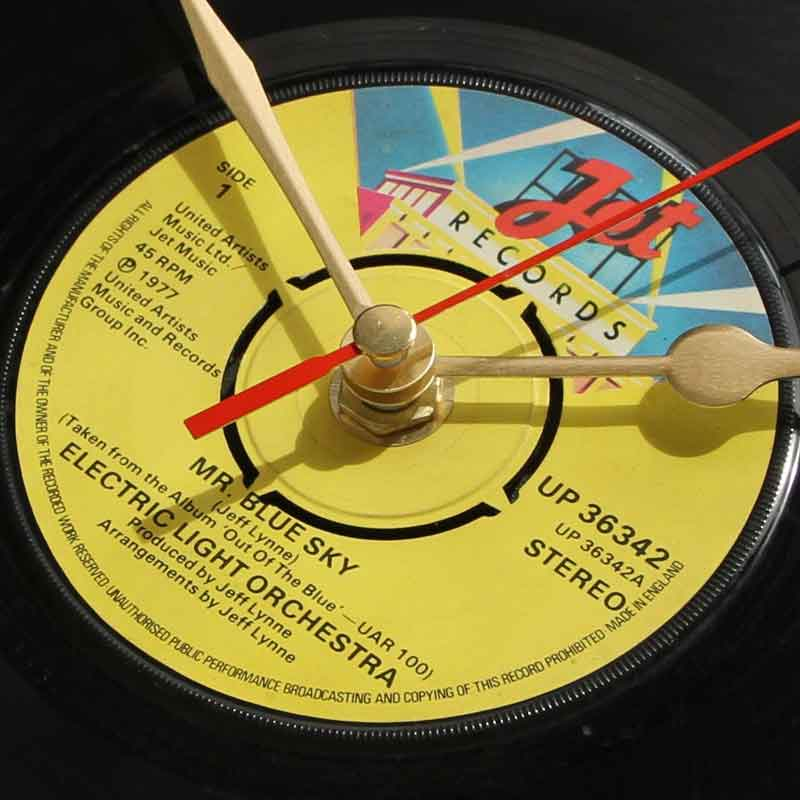 Elo Mr Blue Sky Vinyl Clocks