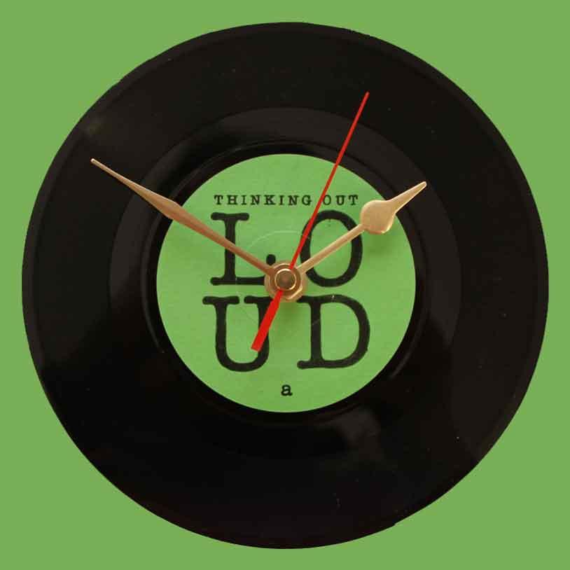 Ed Sheeran Thinking Out Loud Vinyl Clocks