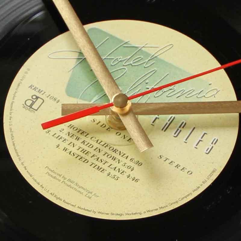 The Eagles Hotel California Vinyl Clocks