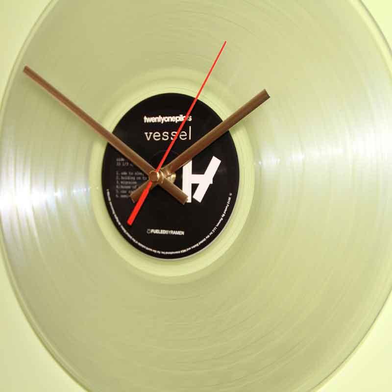 Twenty One Pilots Vessel Vinyl Clocks